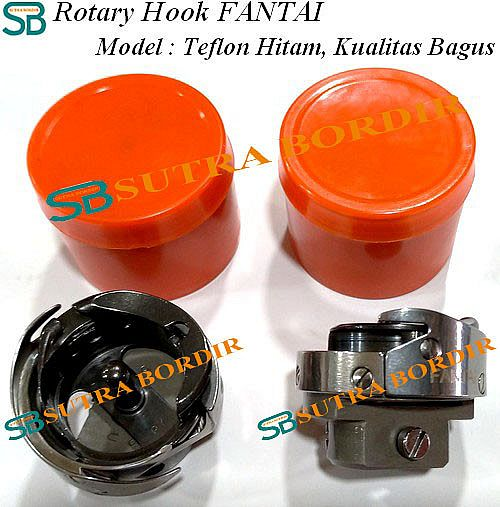 Rotary Hook Bordir TEFLON HITAM FANTAI (BEST SELLER)
